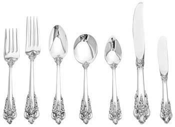 Grand Baroque Flatware Set Sterling Silver Sell Gold Houston